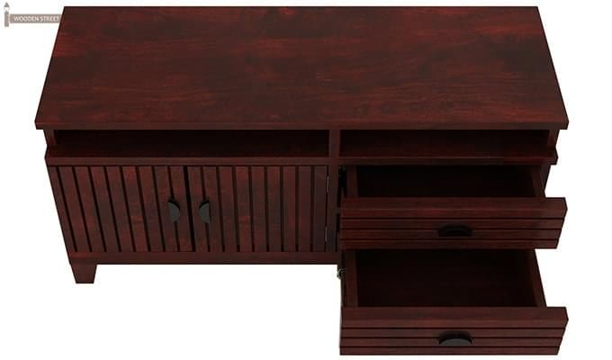 Felner Tv Unit (Mahogany Finish)-3