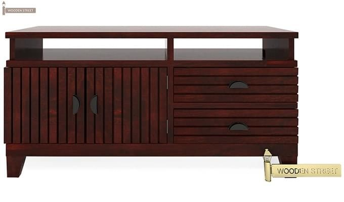 Felner Tv Unit (Mahogany Finish)-4