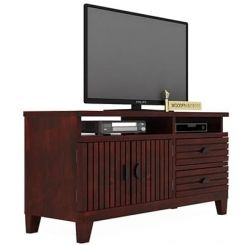 Felner Tv Unit (Mahogany Finish)