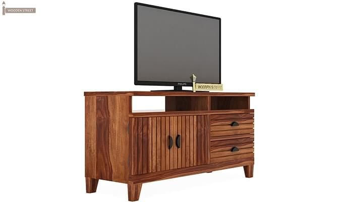 Felner Tv Unit (Teak Finish)-1