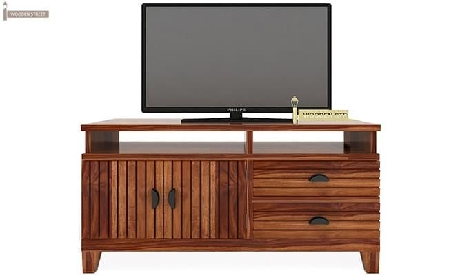 Felner Tv Unit (Teak Finish)-2