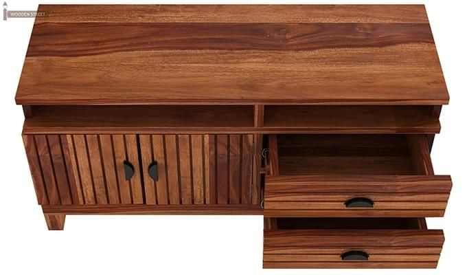Felner Tv Unit (Teak Finish)-3
