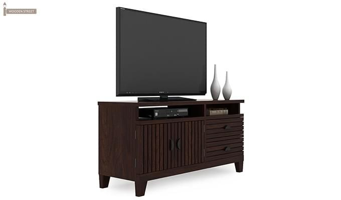 Felner Tv Unit (Walnut Finish)-2