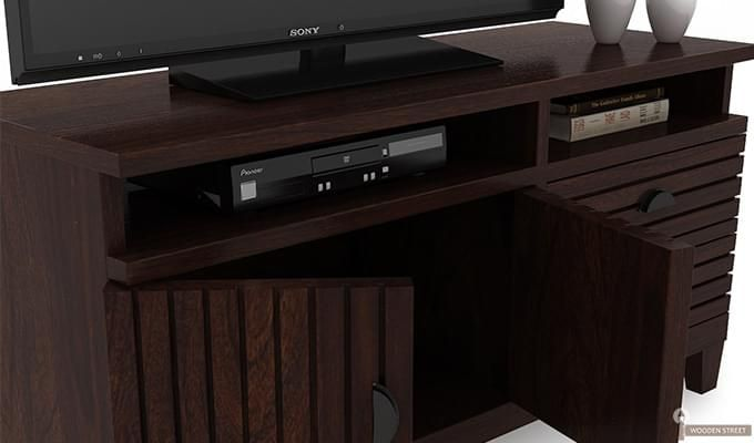 Felner Tv Unit (Walnut Finish)-4