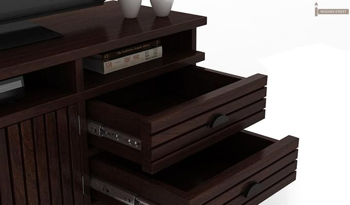 Felner Tv Unit (Walnut Finish)-5