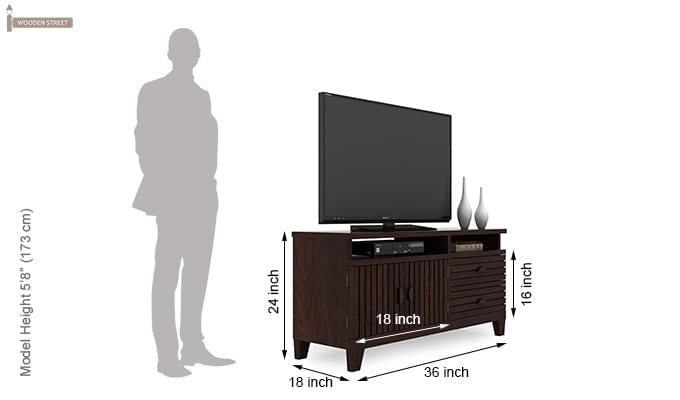 Felner Tv Unit (Walnut Finish)-6