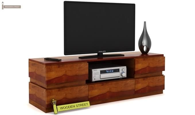 Florian Tv Unit (Honey Finish)-2