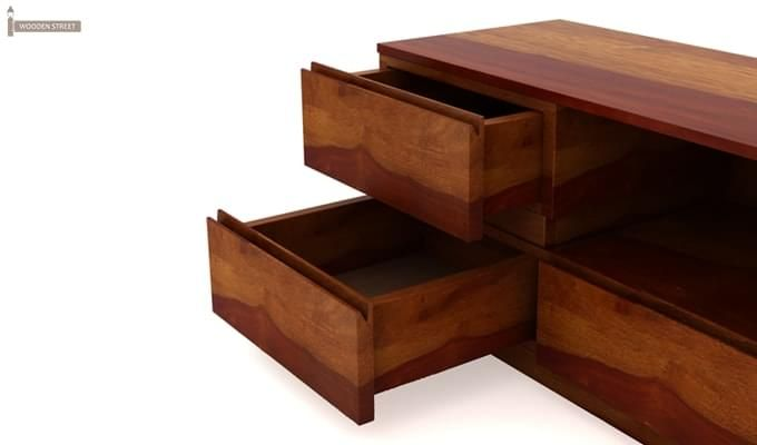 Florian Tv Unit (Honey Finish)-4