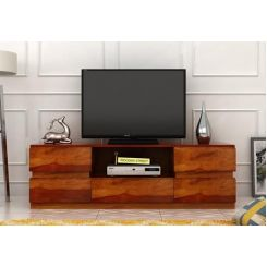 Florian Tv Unit (Honey Finish)