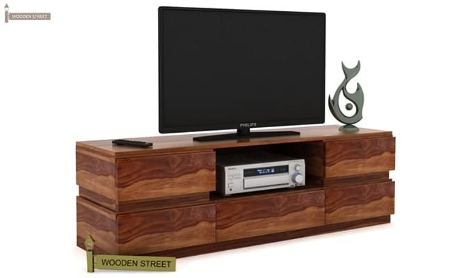 Florian Tv Unit (Teak Finish)-1