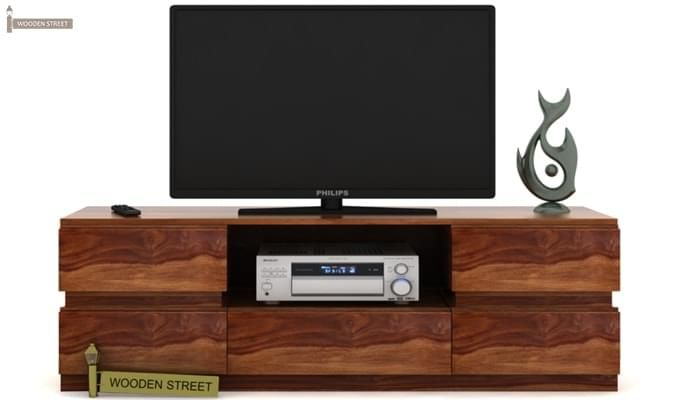 Florian Tv Unit (Teak Finish)-2