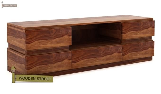 Florian Tv Unit (Teak Finish)-3
