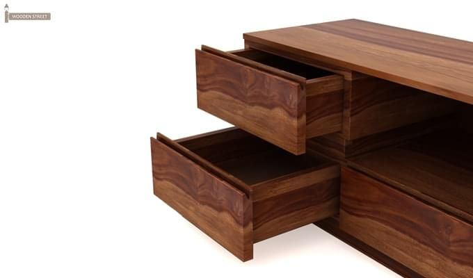 Florian Tv Unit (Teak Finish)-4