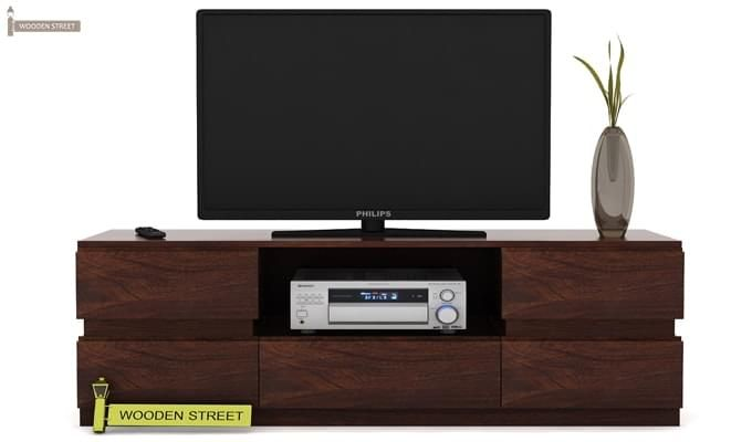 Florian Tv Unit (Walnut Finish)-2