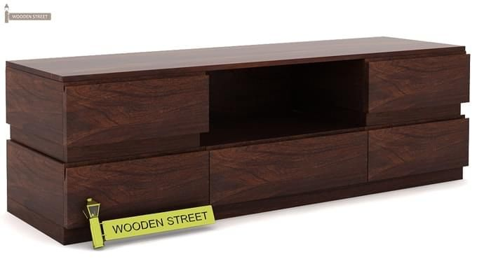 Florian Tv Unit (Walnut Finish)-3