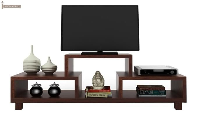 Gair Tv Unit (Walnut Finish)-1