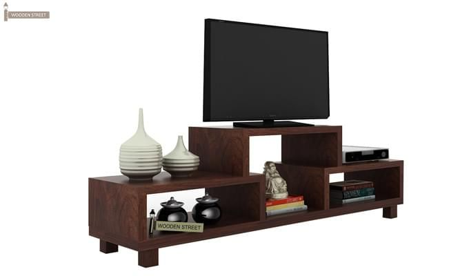 Gair Tv Unit (Walnut Finish)-2