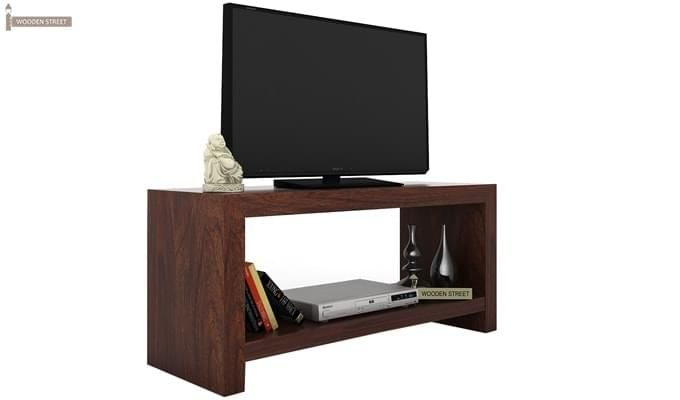 Gilford Tv Unit (Walnut Finish)-2