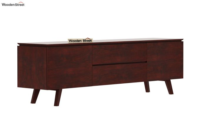 Hamlet Tv Unit (Mahogany Finish)-4