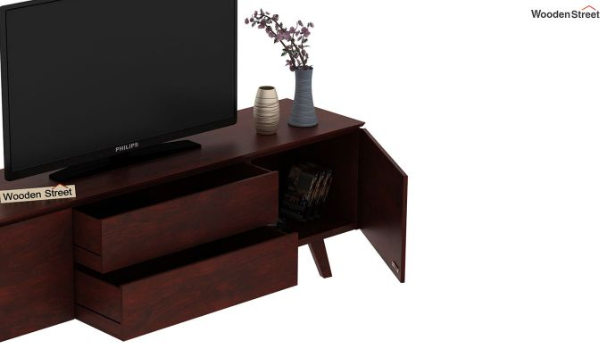Hamlet Tv Unit (Mahogany Finish)-7