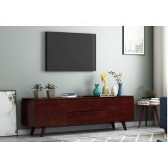 Hamlet Tv Unit (Mahogany Finish)