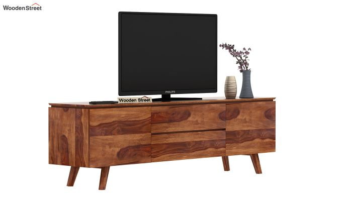 Hamlet Tv Unit (Teak Finish)-2