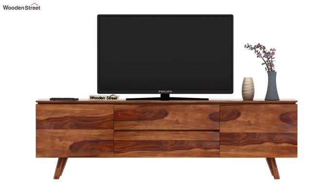 Hamlet Tv Unit (Teak Finish)-3