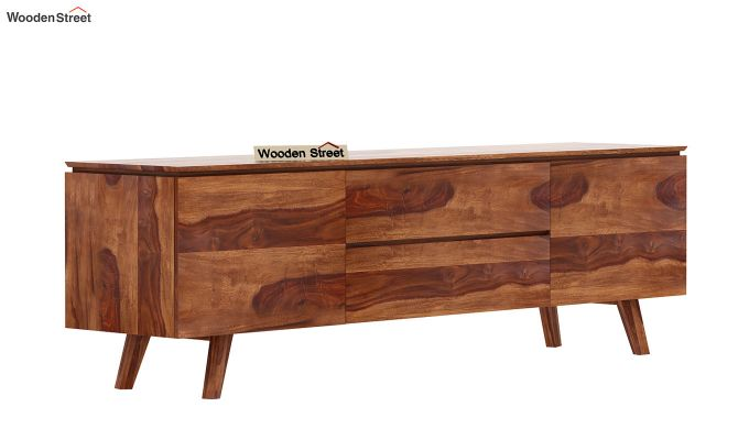 Hamlet Tv Unit (Teak Finish)-4
