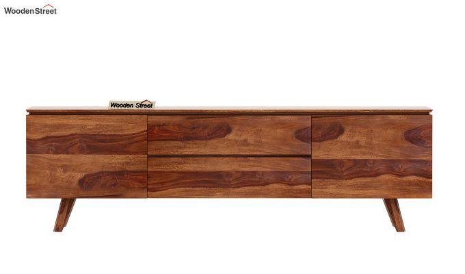 Hamlet Tv Unit (Teak Finish)-5