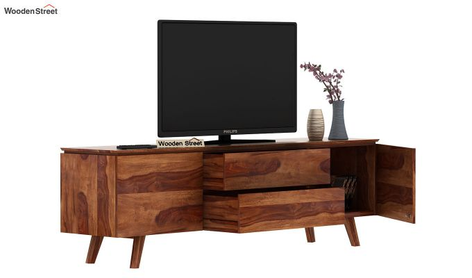 Hamlet Tv Unit (Teak Finish)-6