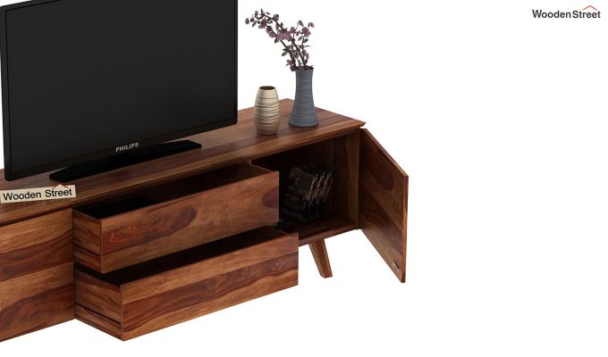 Hamlet Tv Unit (Teak Finish)-7