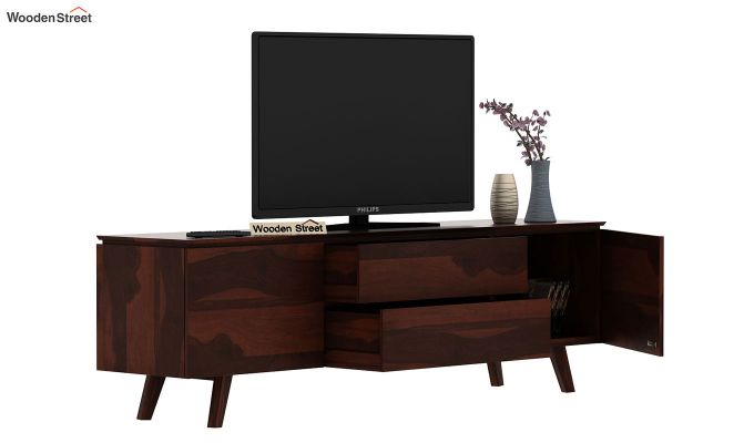 Hamlet Tv Unit (Walnut Finish)-6