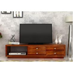 Hanley Tv Unit (Honey Finish)