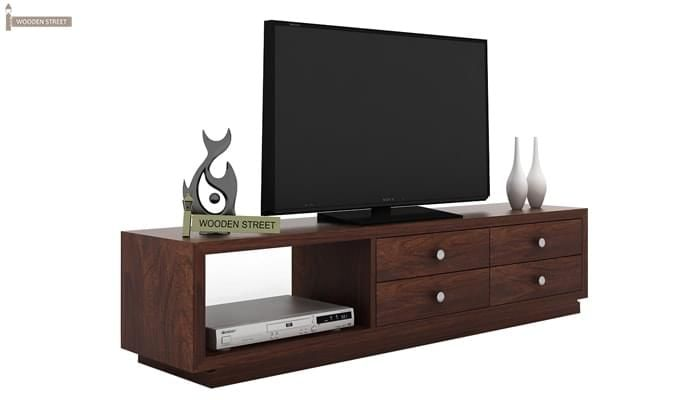 Hanley Tv Unit (Walnut Finish)-2