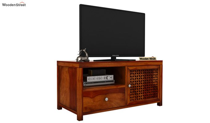 Hanson Tv Unit (Honey Finish)-2