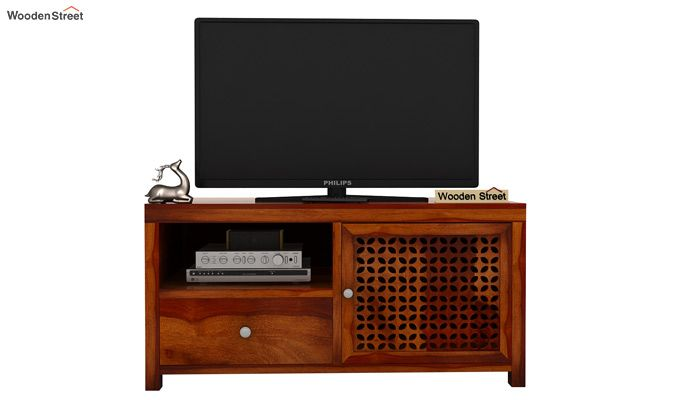 Hanson Tv Unit (Honey Finish)-3