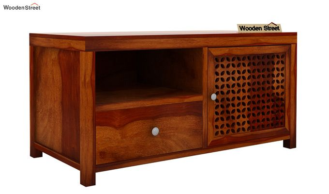 Hanson Tv Unit (Honey Finish)-4