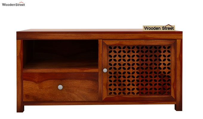 Hanson Tv Unit (Honey Finish)-5