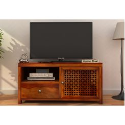 Hanson Tv Unit (Honey Finish)