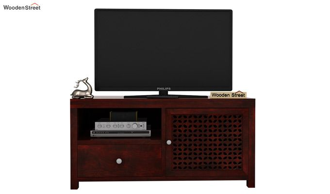 Hanson Tv Unit (Mahogany Finish)-2