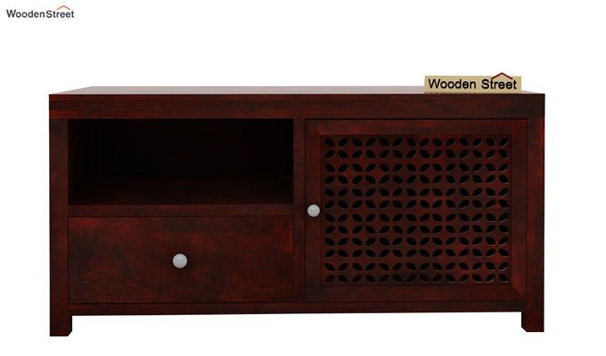 Hanson Tv Unit (Mahogany Finish)-4