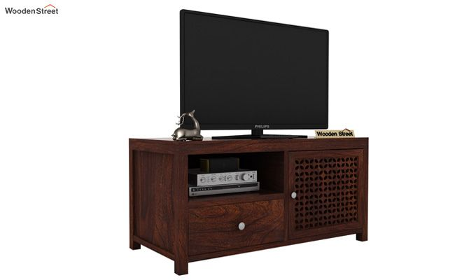 Hanson Tv Unit (Walnut Finish)-1