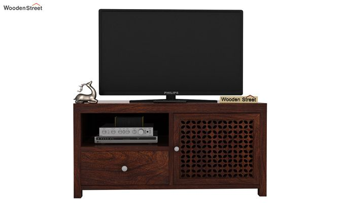 Hanson Tv Unit (Walnut Finish)-2