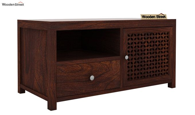 Hanson Tv Unit (Walnut Finish)-3