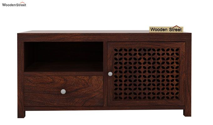 Hanson Tv Unit (Walnut Finish)-4