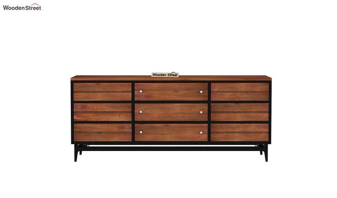 Hedren TV Unit (Teak Finish)-4