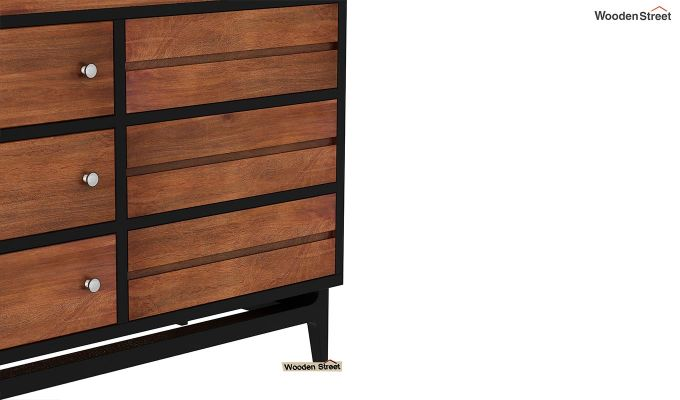 Hedren TV Unit (Teak Finish)-6