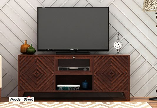 Tv Unit, solid wood tv stand for sale in Ahmedabad, surat India online