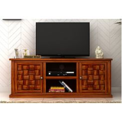 Howler Tv Unit (Honey Finish)