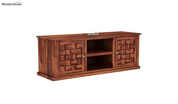 Howler Tv Unit (Honey Finish)-2